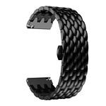 123Watches Polar Vantage M / Grit X dragon steel band band - black