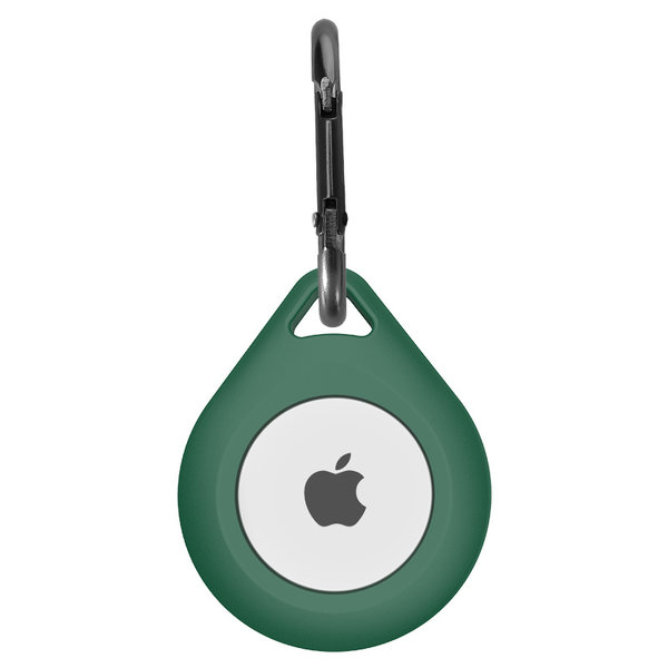123Watches AirTag silicone drop key ring - green