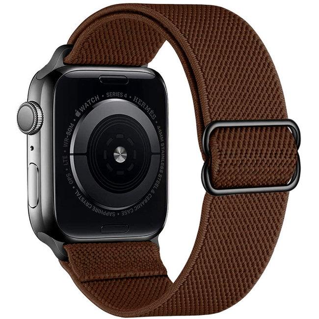 Apple watch nylon solo loop band - brown
