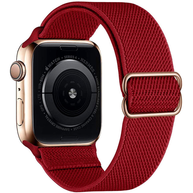 Apple watch nylon solo loop band - red