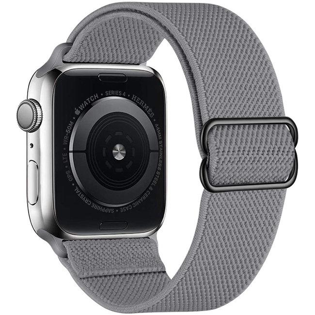 Apple watch nylon solo loop band - gray