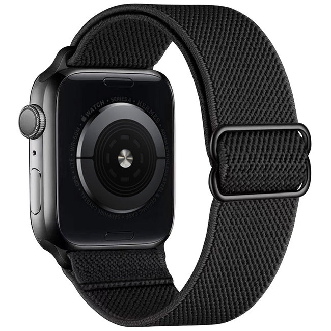 Apple watch nylon solo loop band - black