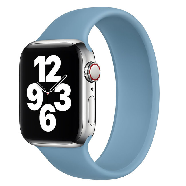 Apple watch sport solo loop band - northern blue