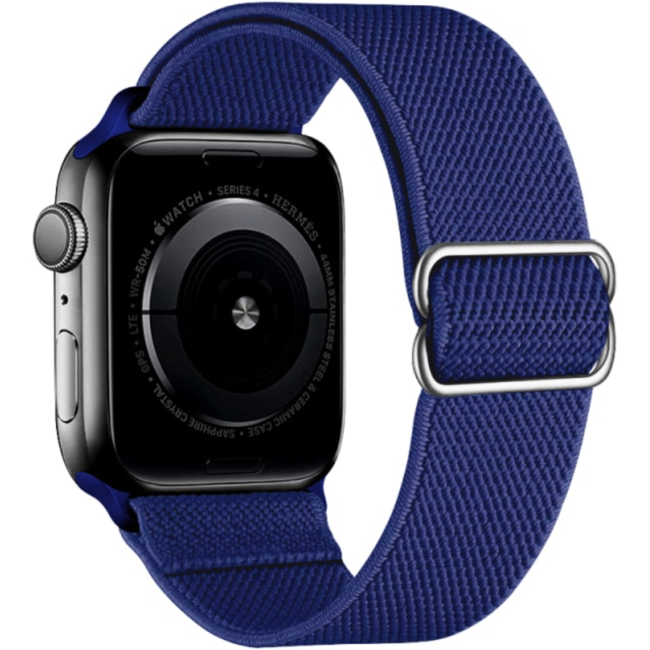 Apple watch nylon solo loop band - blue