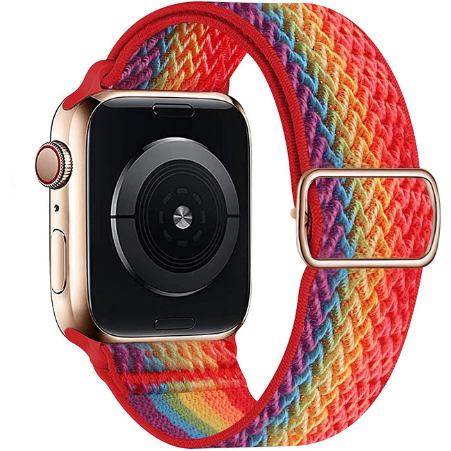 Apple watch nylon solo band - colorful
