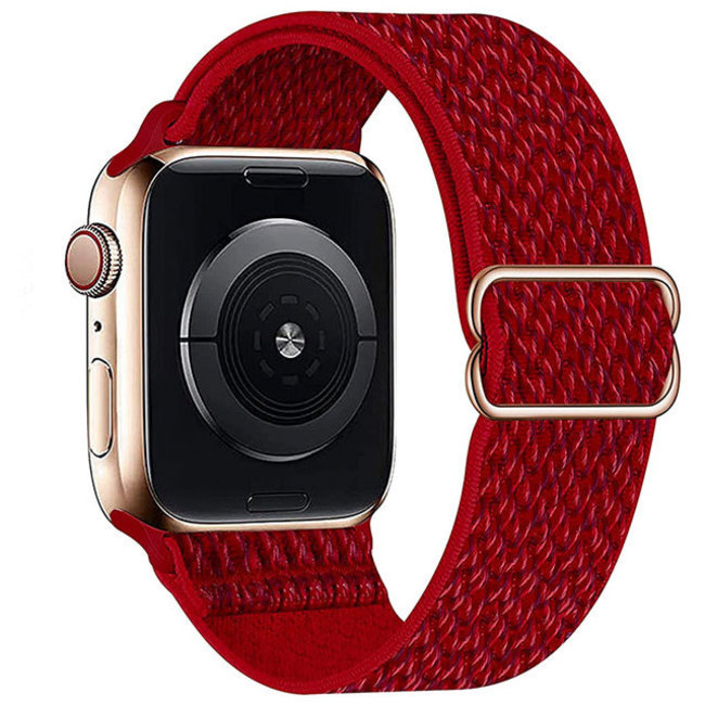 Apple watch nylon solo band - red