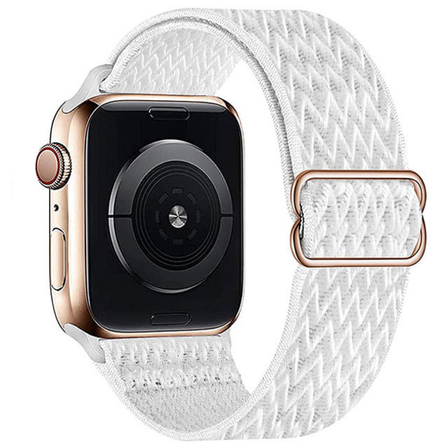 Apple watch nylon solo band - white