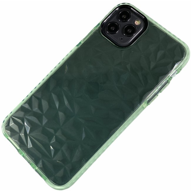 Apple iPhone 6 / 6S - Silicone transparante soft hoesje Emma groen