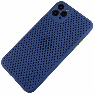 Merk 123watches Apple iPhone Xr - Silicone hoesje Liam blauw