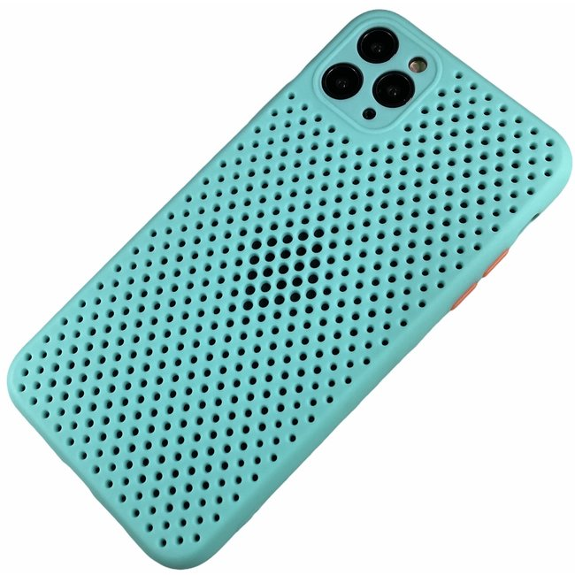 Apple iPhone 11 - Silicone hoesje Liam navy
