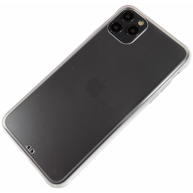 Apple iPhone X / Xs - Silicone transparant zacht hoesje Sam wit