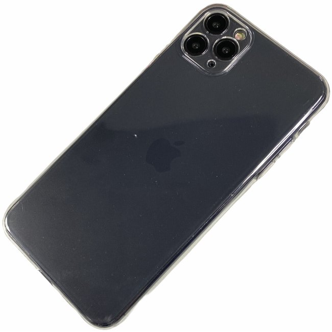 Apple iPhone 11 Pro - Silicone transparante soft hoesje Sophie transparant