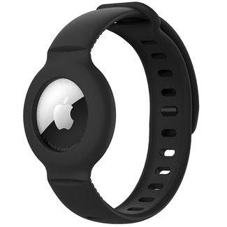 Merk 123watches AirTag band - zwart