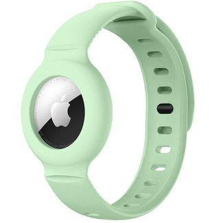 Merk 123watches AirTag band - mint groen