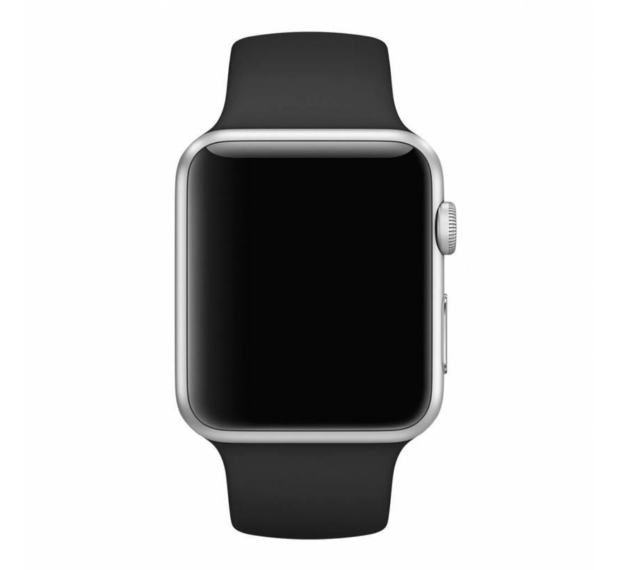 Apple watch sport band - zwart