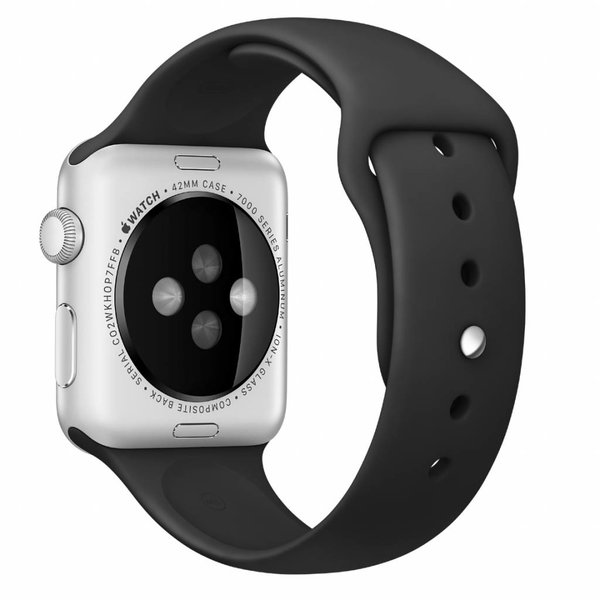 123Watches Apple watch sport band - black