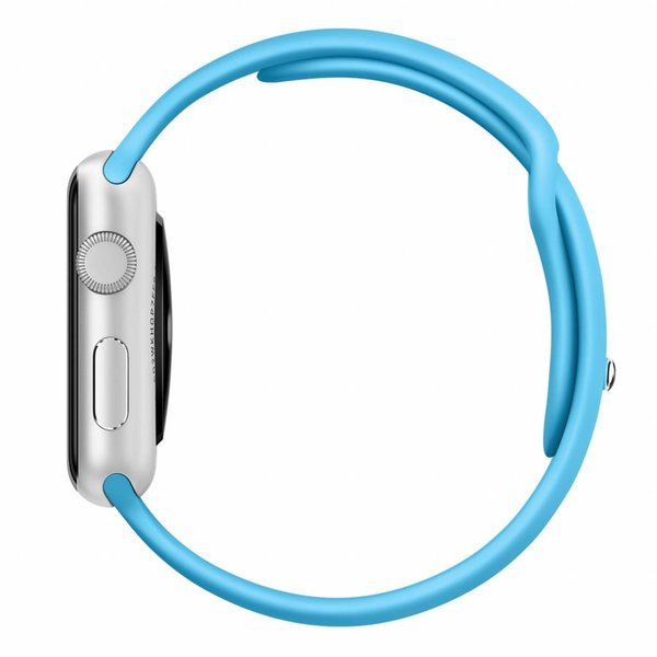 123Watches.nl Apple watch sport band - blue