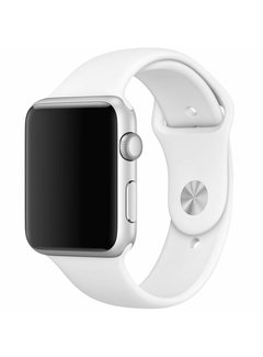 123Watches.nl Apple watch sport band - weiß