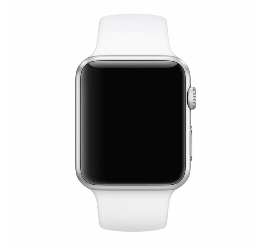 Apple watch sport band - white