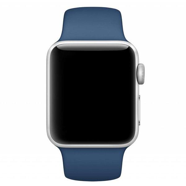 123Watches Apple watch sport band - ocean blue