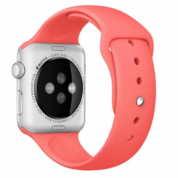 123Watches Apple Watch sport sangle - rose