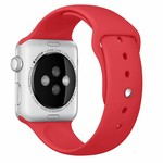 123Watches.nl Apple watch sport band - red