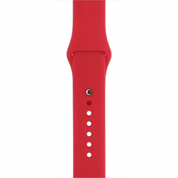 123Watches Apple watch sport band - rood