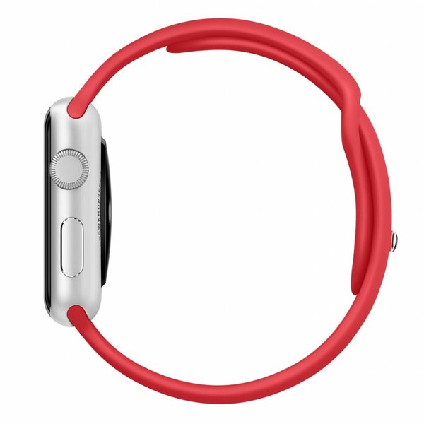 123Watches.nl Apple watch sport band - rood