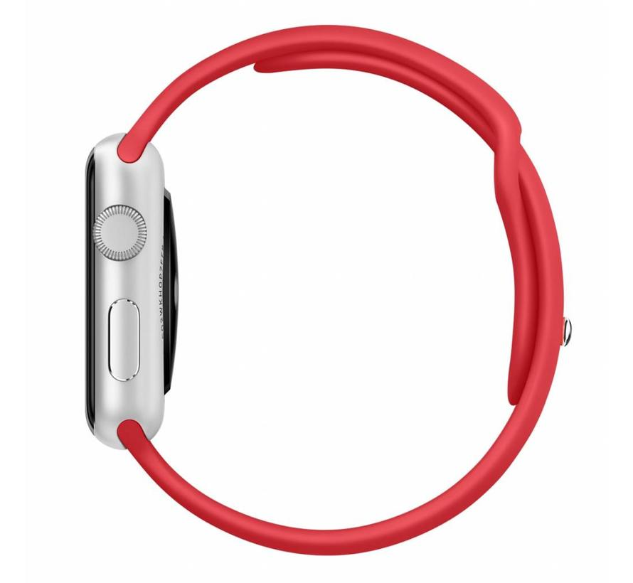 Apple watch sport band - red
