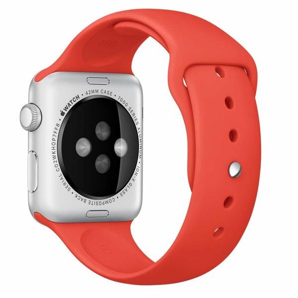 123Watches Apple watch sport band - oranje