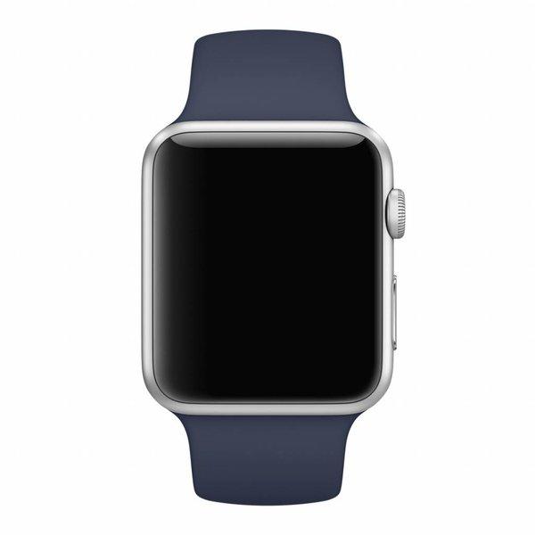 123Watches Apple Watch sport sangle - minuit