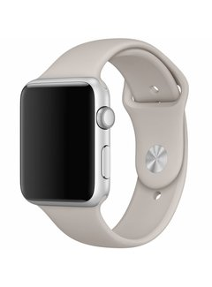 123Watches.nl Apple watch sport band - stone brown