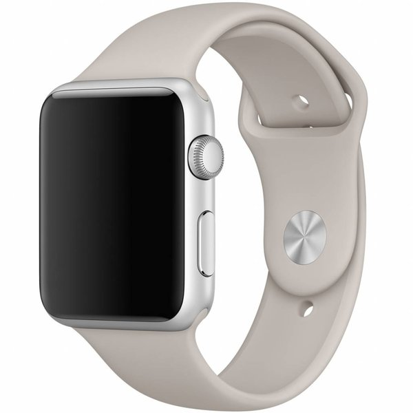 123Watches Apple watch sport band - stone brown