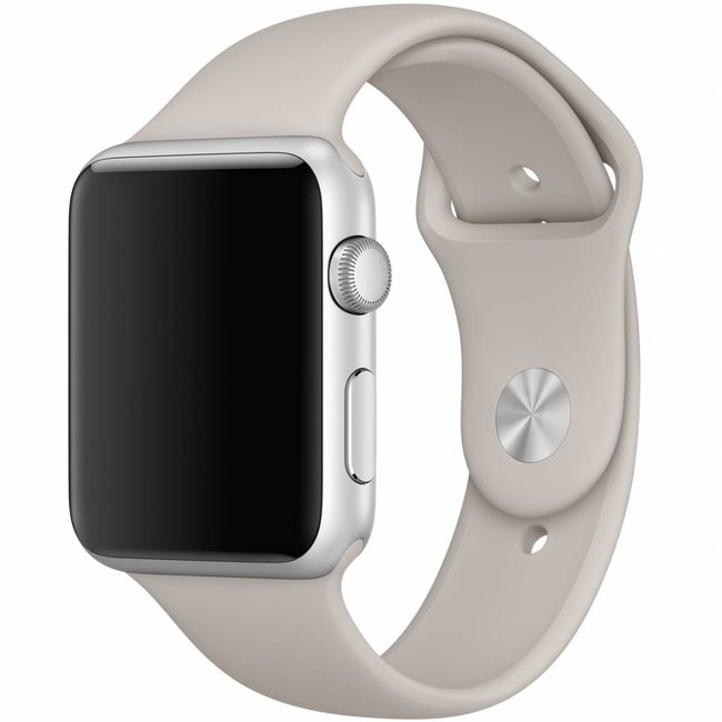 Apple watch sport band - stone brown
