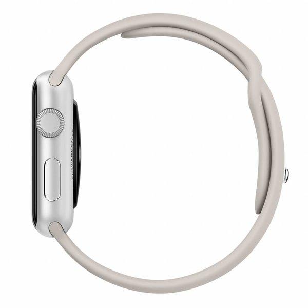 123Watches.nl Apple watch sport band - steenbruin