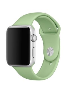 123Watches.nl Apple watch sport band - mintgrün