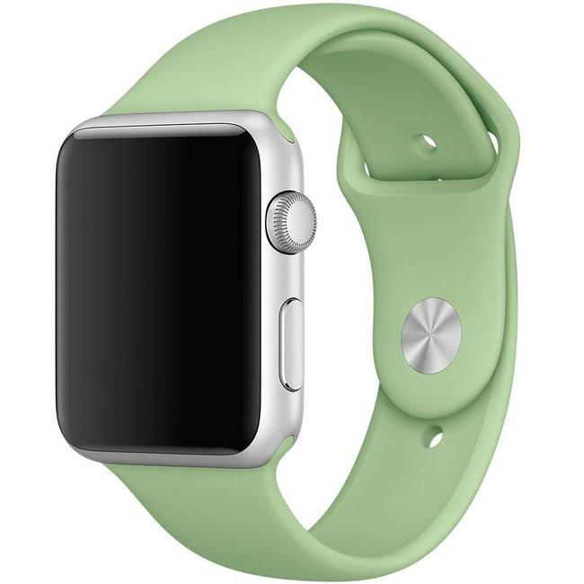 Merk 123watches Apple watch sport band - mintgroen