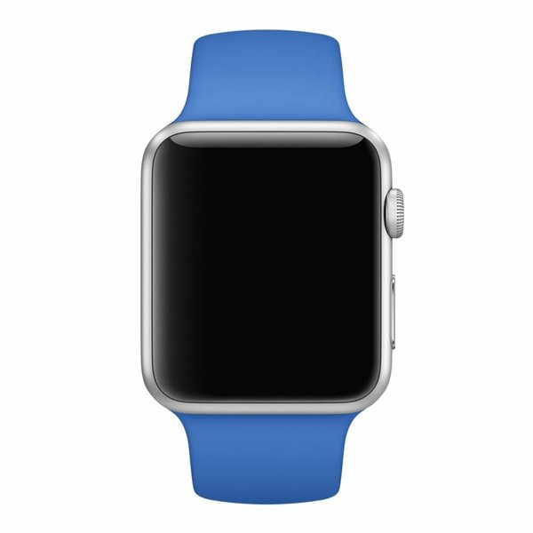 123Watches Apple watch sport band - koningsblauw