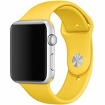123Watches Apple watch sport band - geel