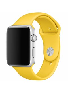 123Watches.nl Apple watch sport band - geel