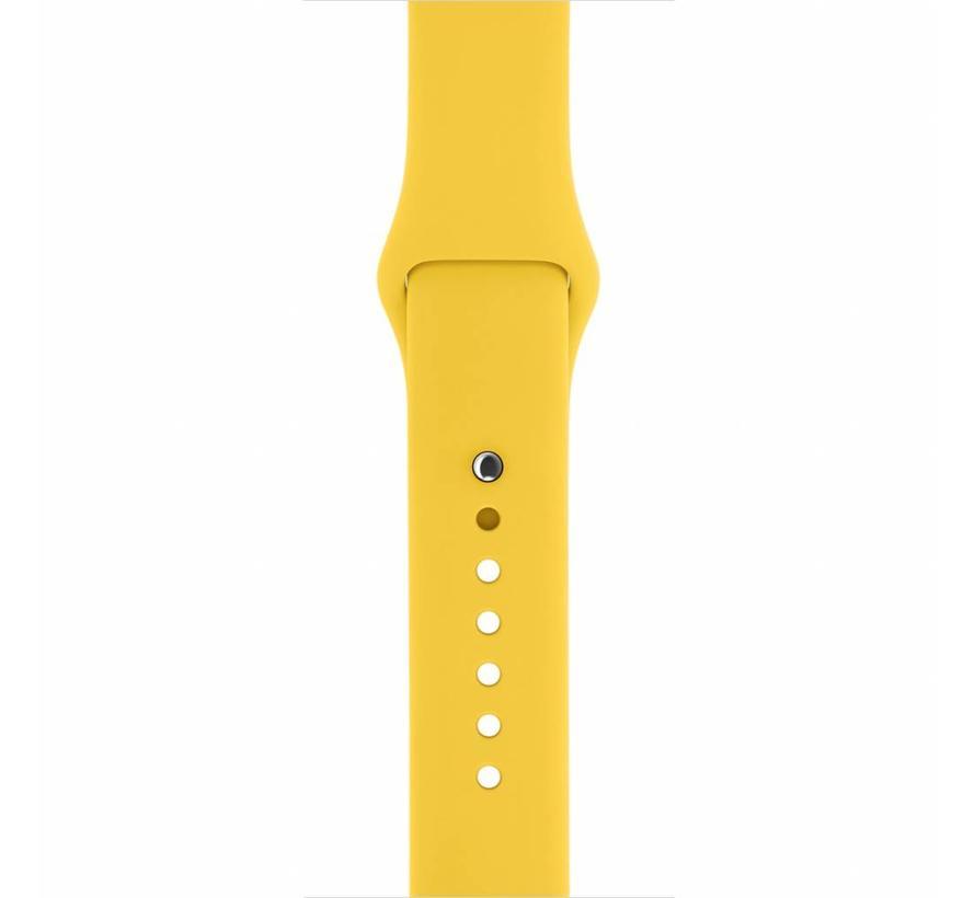 Apple watch sport band - gelb