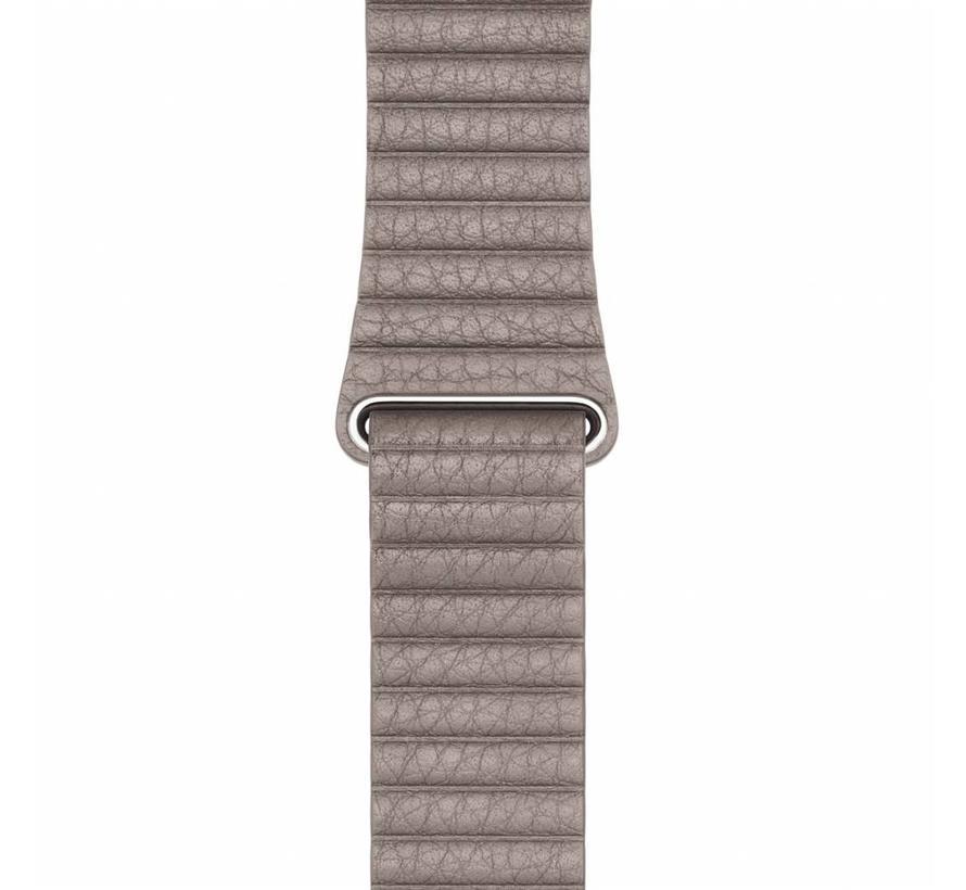 Apple Watch PU leder rippe band - khaki