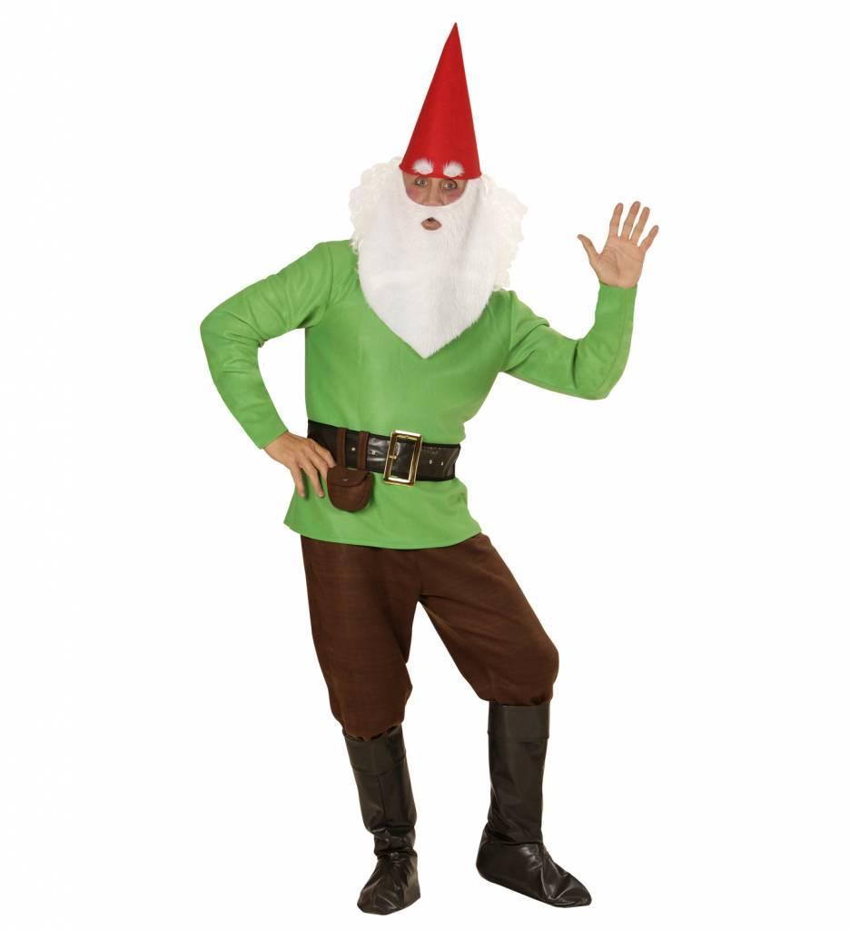 Groen Kabouter Kostuum
