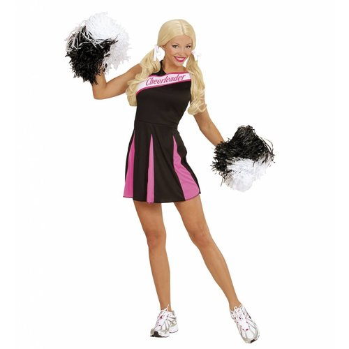 Widmann Cheerleader Pakje Zwart/Roze