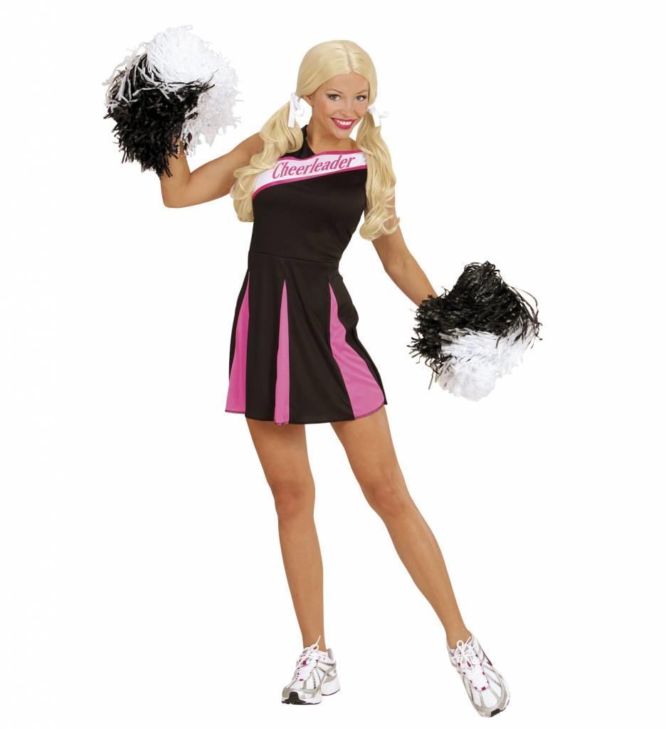 Cheerleader Zwart/Rose