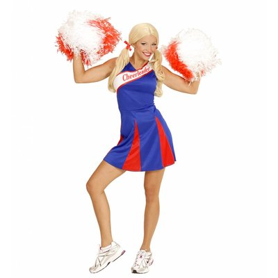 Cheerleader Pakje Blauw/Rood