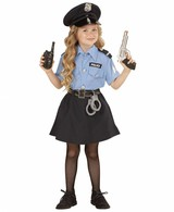 Politie Kostuum Meisje