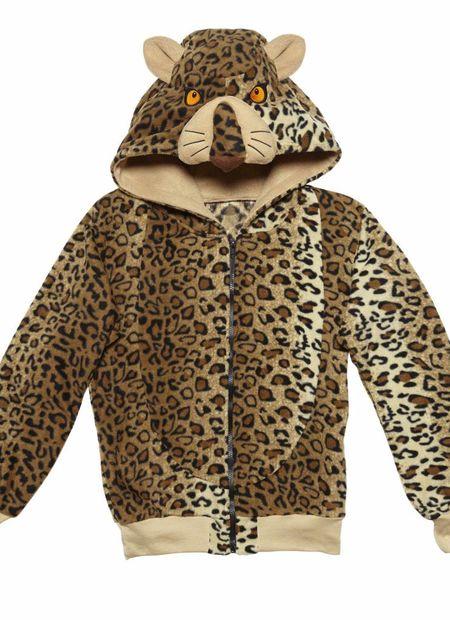 Hoodie, Luipaard