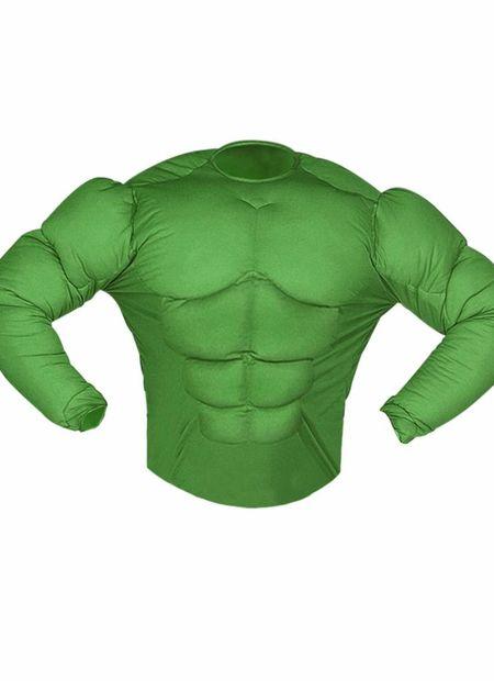 Spierenshirt Groen Kind