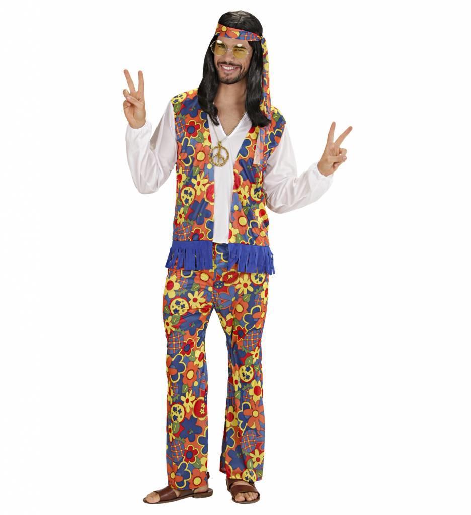 Hippie Kostuum Man